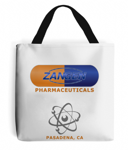 Zangen Pharmaceutical Big Bang Theory Inspired Tote Bag